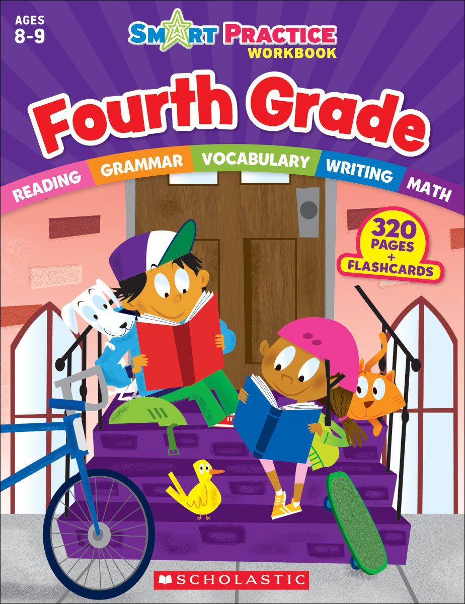 Image OfSmart Practice Workbook: Fourth Grade