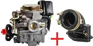 Sandis Style de Voiture Carburateur Automatique Starter Electrique pour GY6 50cc 125cc 150cc Velomoteur de Scooter