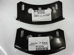 LawnMowerParts John Deere Set of 2 Skid Shoes M135188 44
