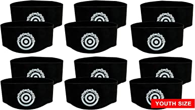 Unique Sports Youth Size Lace Bands Soccer Cleat Lace Cover (6 Pair)