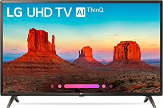 LG Electronics 43UK6300PUE 43-Inch 4K Ultra HD Smart LED TV (2018 Model) (Renewed)