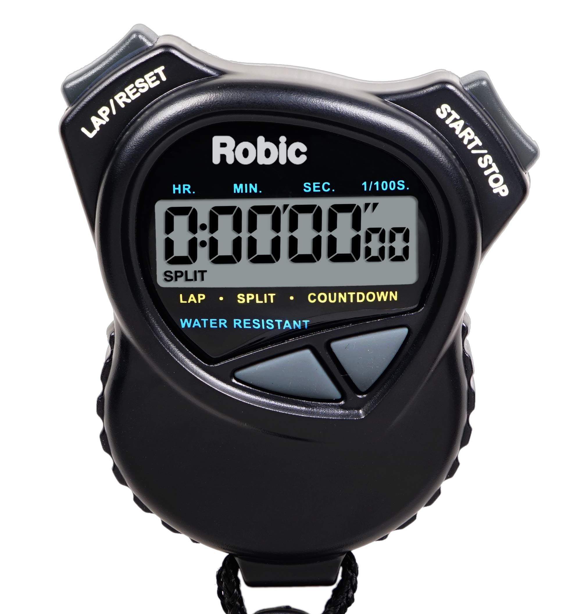 Robic Stopwatch Countdown Timer Black
