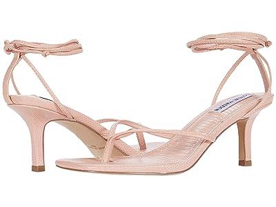 Steve Madden Lori Heeled Sandal (Pink Lizard) Women
