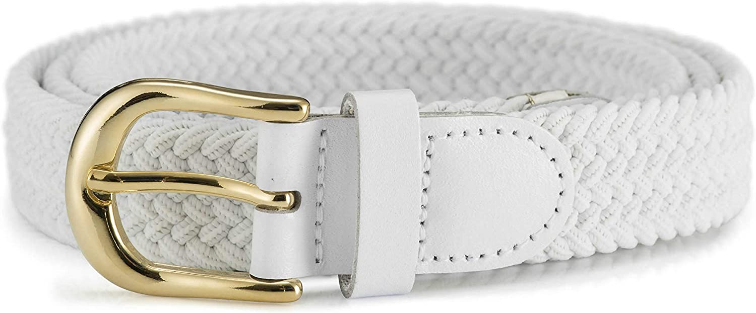 STREEZE Award Womens Elastic Stretch Challenge the lowest price Belt 1 Wide with Inch Buckle Gold