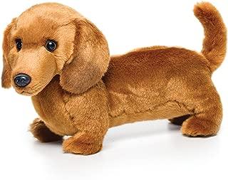 Nat and Jules Standing Large Dachshund Dog Children's Plush Stuffed Animal Toy