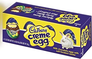 Cadbury Creme Eggs, 4-count Box, 4.8-Ounce (Pack of 3)