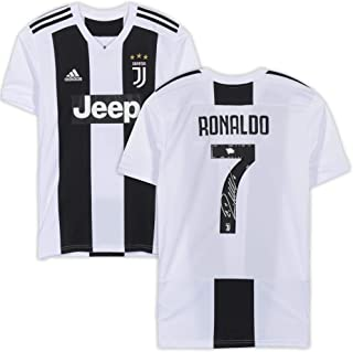 Cristiano Ronaldo Juventus F.C. Autographed 2018-2019 White Adidas Replica Jersey - Fanatics Authentic Certified