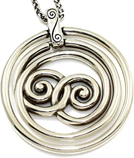 Brighton Rock N Twirl Silver Plated Necklace