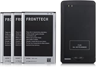 FrontTech 3100mAh OEM Battery+Charger For Samsung Galaxy Note 2 N7100 T889 I605 I317 (3batteries+1charger)