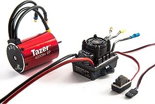 Dynamite Tazer 1/10 6-Pole 4000Kv Waterproof/ESC Motor Combo V2, DYNS0601