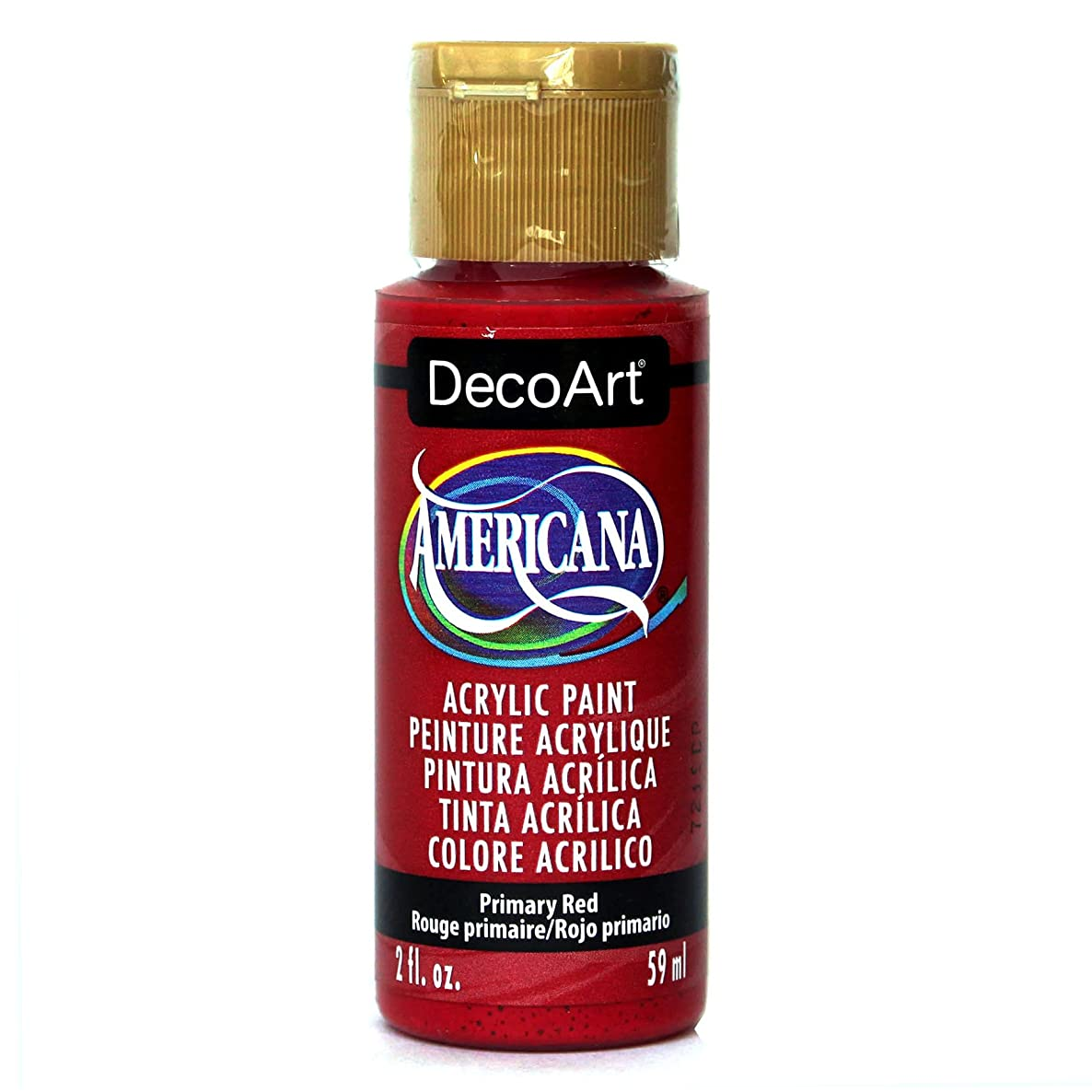 DecoArt Americana Acrylic Paint, 2-Ounce, Primary Red
