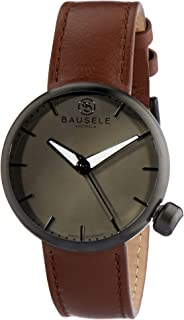 Bausele Men's Australian Designed - Comes with 2 easy interchangeable straps, Noosa - Midnight- Bis