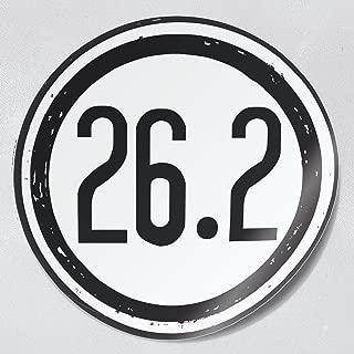 Nudge Printing 26.2 Miles Full Marathon Runner Car or Laptop Decal Bumper Sticker