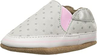 Robeez Soft Sole Baby Girl Crib Shoes, Baby Shoes for Girls, Infant 0-24 Months