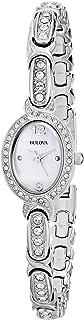 Women's 96L199 Swarovski Crystal Stainless Steel Watch