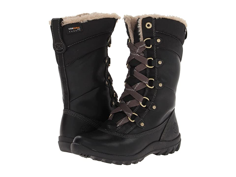 Timberland Mount Hope Mid (Black Forty Leather) Women