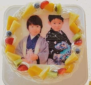 フォトケーキ 6号サイズ 直径18cm