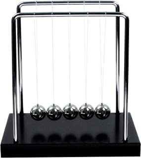 GEEKGEEK Classic Newtons Cradle Balance Ball Science Gifts Desk Toy Home Decoration