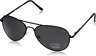 Fastrack Aviator Unisex Sunglasses - (M069BK3|58|Grey)