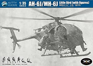 Kitty Hawk KTH50004 1:35 AH-6J / MH-6J Little Bird Nightstalkers with 6 Figures [MODEL BUILDING KIT]
