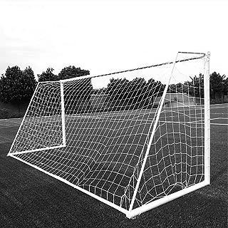 Aoneky Red para Portería de Fútbol Mini/Grande - Red Portátil de Reemplazo para Formación Práctica Entrenamiento Partido, Accesorios de Deportes al Aire Libre, Blanco, Sin Marco