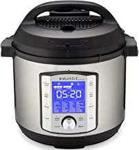 Instant Pot Duo Evo Plus 10-in-1, 5.7L Electric Pressure Cooker, Sterilizer, Slow Cooker, Rice Cooker, Grain Maker, Steame...