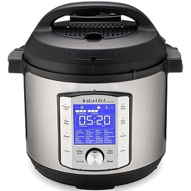 Instant Pot Duo Evo Plus 9-in-1 Electric Pressure Cooker, Sterilizer, Slow Cooker, Rice Cooker, Grain Maker, Steamer, Sauté, Yogurt Maker, Sous Vide, Bake, and Warmer, 6 Quart, 10 Programs