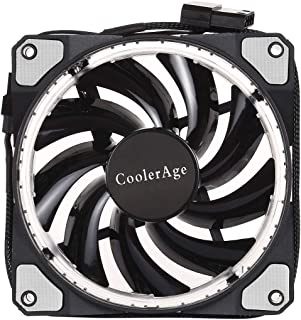 WTYD Computer Accessories Color LED 12cm 3pin Computer Components Chassis Fan Computer Host Cooling Fan Silent Fan Coolin...
