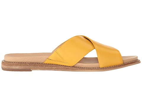 For Cheap Price Discount Shop Dr. Scholl's Deco - Original Collection Yellow Leather Buy Cheap Find Great Clearance Clearance Store Discount Shop Offer p3Q5DHQcjg