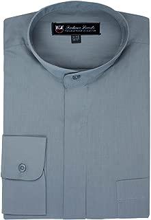 Best grey mandarin collar shirt Reviews