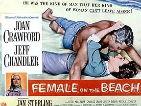 Posterazzi Female On The Beach Jeff Chandler Joan Crawford Jan Sterling 1955 Movie Masterprint Poster Print (28 x 22)
