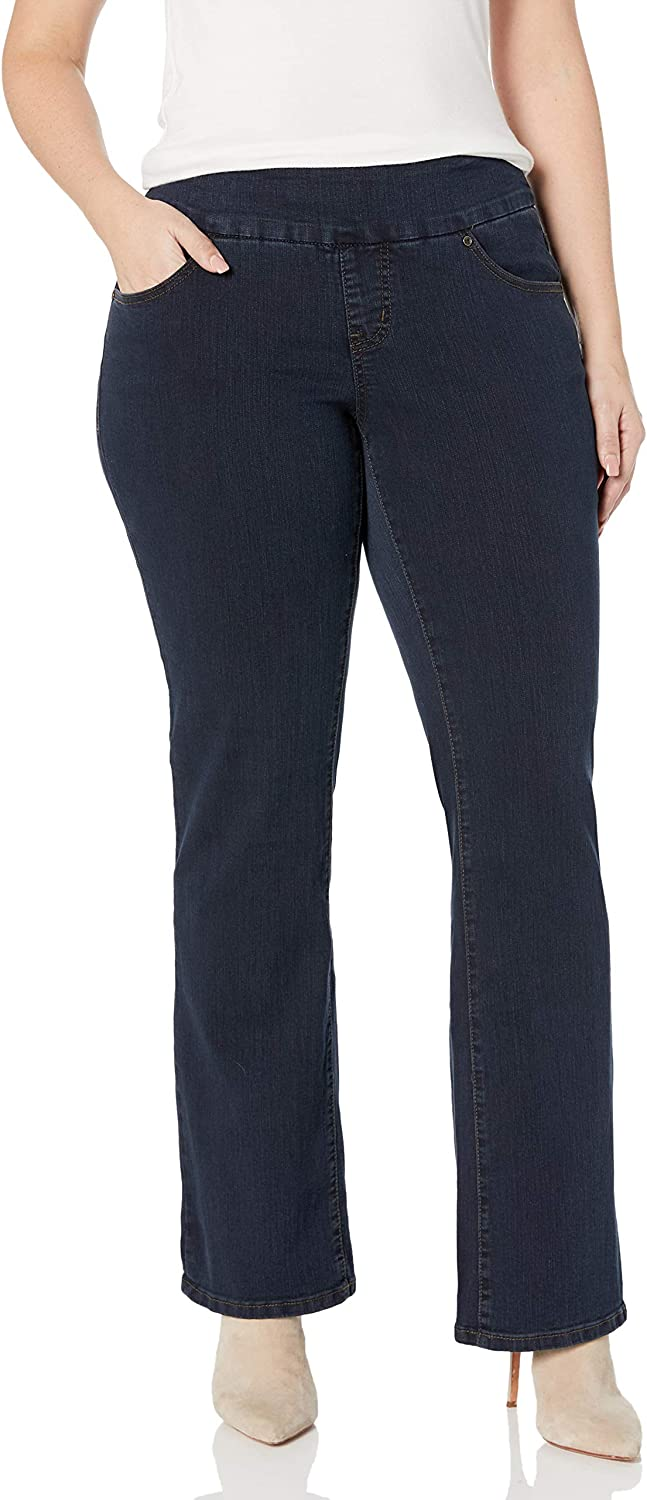 Jag Jeans Women's Plus Size 定番の人気シリーズPOINT ポイント 入荷 On 超人気 専門店 Jean Paley Bootcut Pull