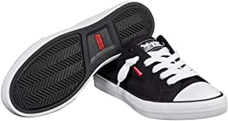 Women's Stan G Black Canvas Slip On Sneakers Comfort Tech Walking Shoes - Size 6.5
