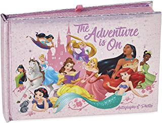 DisneyParks Princesses The Adventure is On Princess Autograph Photo Book