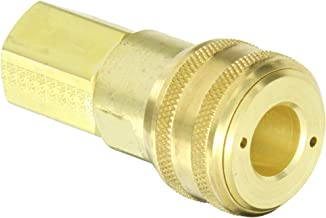 Eaton Hansen 5200 Brass 3000/4000/5000/6000 Series Industrial Interchange, Coupler Socket, 1/2