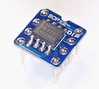 THS4631 DIP化モジュール (デュアルオペアンプ変換) 完成品