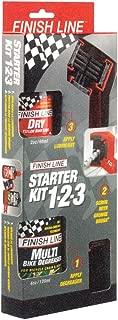 Finish Line Starter Kit 1-2-3: Grunge Brush + 2oz Dry Lube + 4oz Multi-Degreaser
