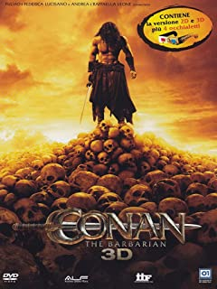 Conan The Barbarian (3D) (Dvd+Dvd 3D+Occhiali) [DVD]