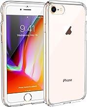Syncwire Coque iPhone 8/7 Transparente - Housse de Protection en Silicone Rigide Anti Choc avec Technologie de Coussins d'air Étuis iPhone 8 / iPhone 7 Coque UltraRock Séries - Transparent