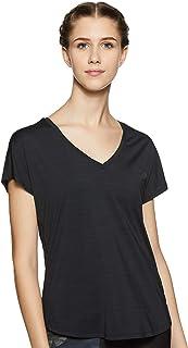 Reebok Women's Plain Regular Fit T-Shirt