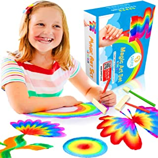 Kids Art Toy For Boys And Girls Gift In Multicolor Rainbow Paint, For Activity And Crafts