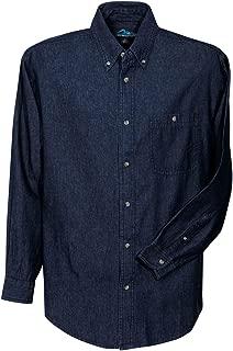 Tri-Mountain 100% Cotton Denim Shirt - 829 Pioneer