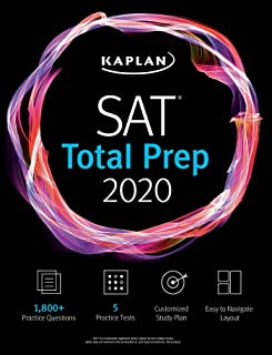 SAT Total Prep 2020: 5 Practice Tests + Proven Strategies + Online + Video (Kaplan Test Prep)