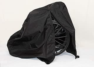 Diestco Manual Wheelchair Cover Accessory Durable Black Lightweight Nylon