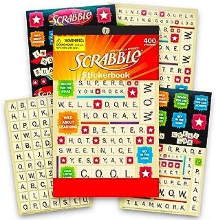 Eureka Scrabble Sticker Books (609693)