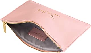 Perfect Pouch Team Bride Pretty Pink Women's Faux Leather Clutch Perfect Pouch