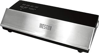 "Weston 65-0501-W Professional Advantage Vacuum Sealer, 11"", Stainless Steel and Black"