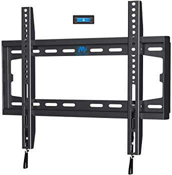 Mounting Dream TV Mount Fixed for 32-55 Inch LED, LCD and Plasma TV, TV Wall Mount Bracket up to VESA 400x400mm and 1...