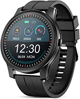 GOKOO Smartwatch Uomo con Cardiofrequenzimetro Monitor del Sonno Fitness Activity Tracker Promemoria Notifica Cronometro C...