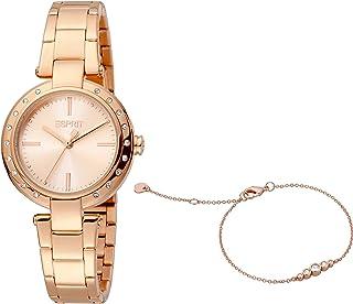 ESPRIT Women's Fashion Quartz Watch - ES1L230M0065; Rose Gold